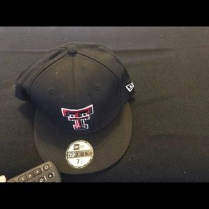 New Era Texas Tech University Fitted Hat
